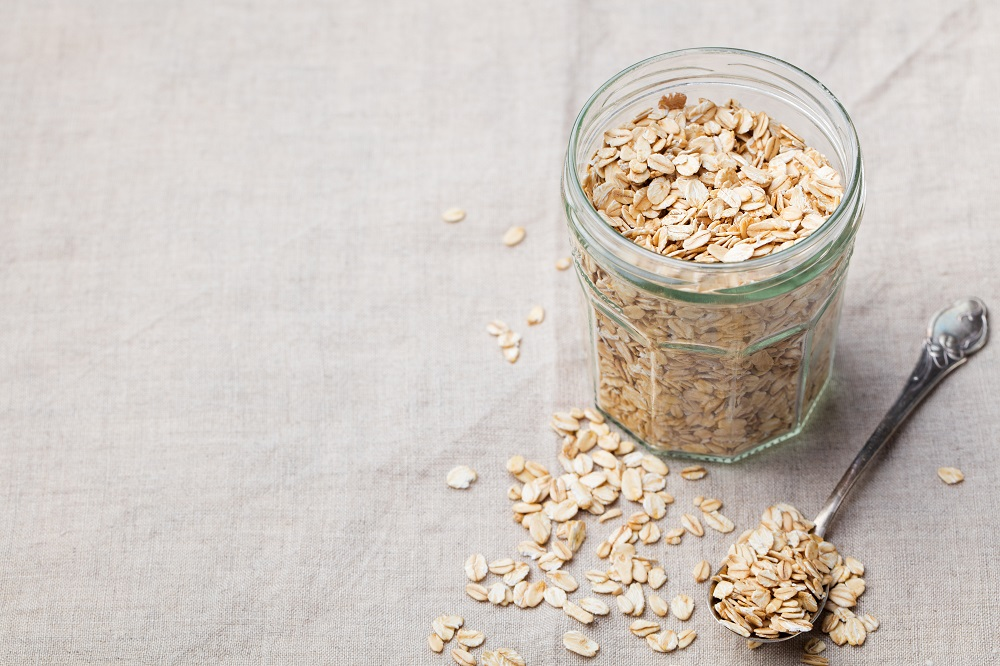 Oats for healthy skin
